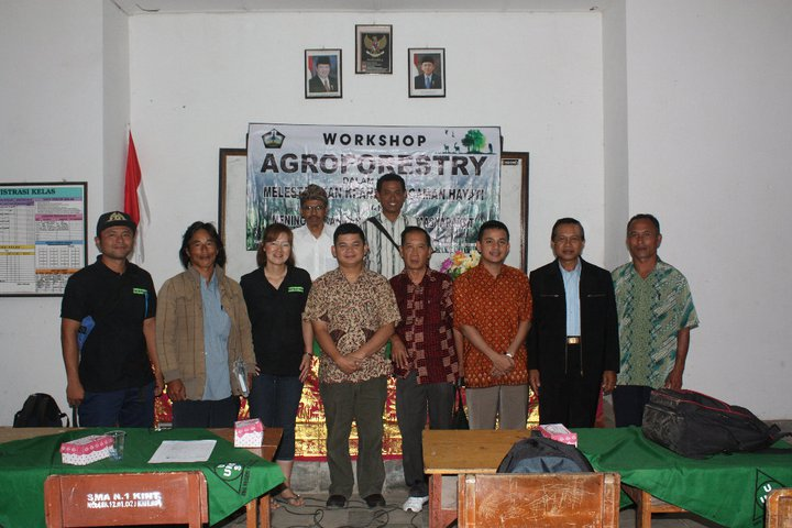 Workshop Agroforestry di Kintamani BALI